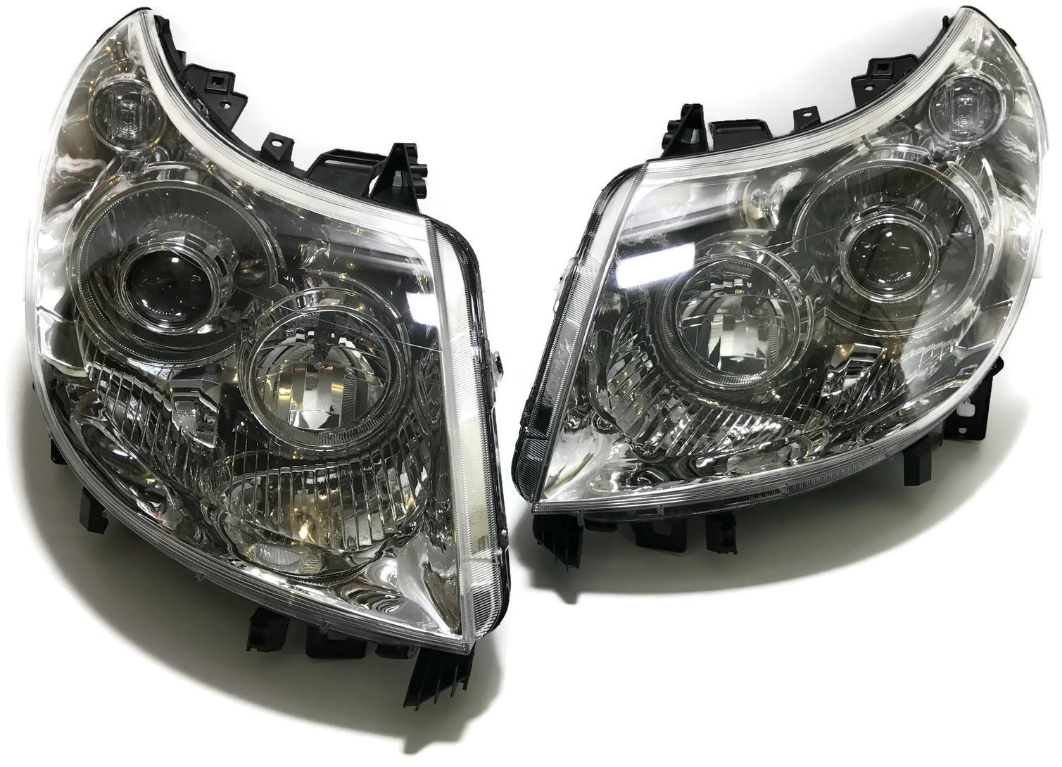 LAMPY SOCZEWKOWE BI XENON JUMPER BOXER FIAT DUCATO