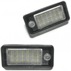 LAMPKI REJESTRACJI LED AUDI A3 A4 A6 A8 Q7 TABLICY