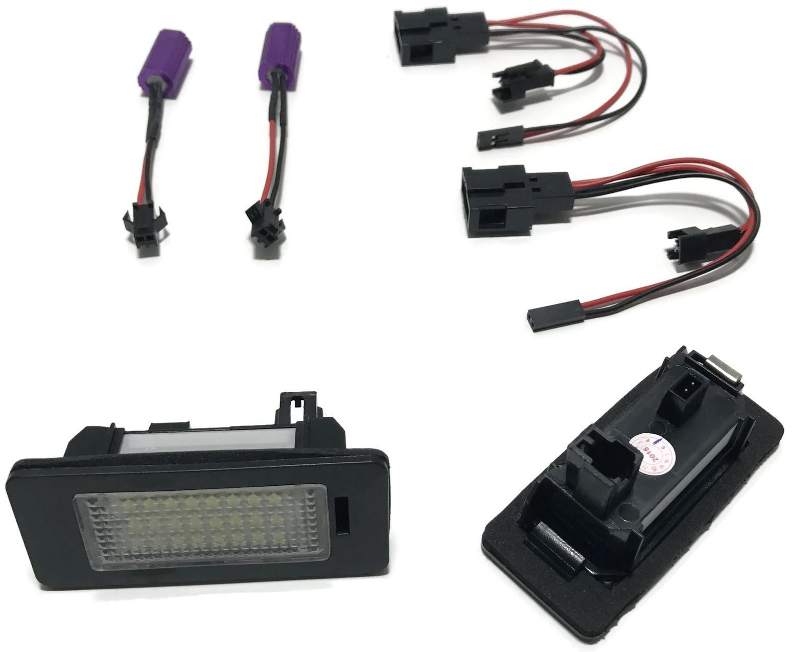 LAMPKI LED REJESTRACJI AUDI A4 A5 Q5 TT VW PASSAT