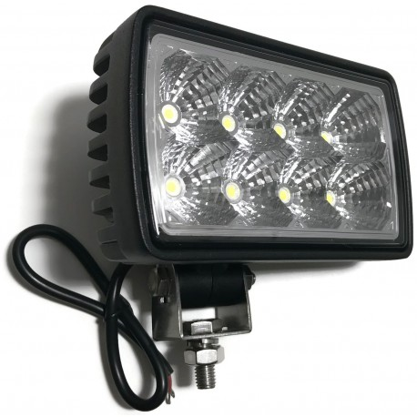 LAMPA 8 LED DALEKOSIĘŻNA ROBOCZA HALOGEN 12V 24V