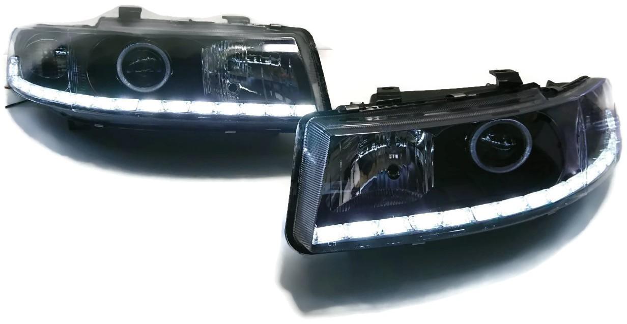 LAMPY SEAT LEON TOLEDO BI XENON SOCZEWKI RINGI LED