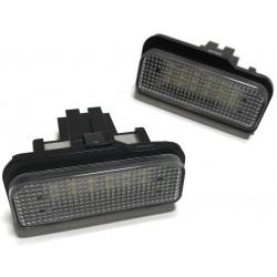LAMPKI LED REJESTRACJI MERCEDES W203 W211 W219