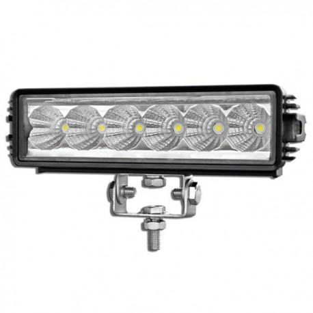 LAMPA DALEKOSIĘŻNA 6 LED HALOGEN PASEK 12V 24V 18W