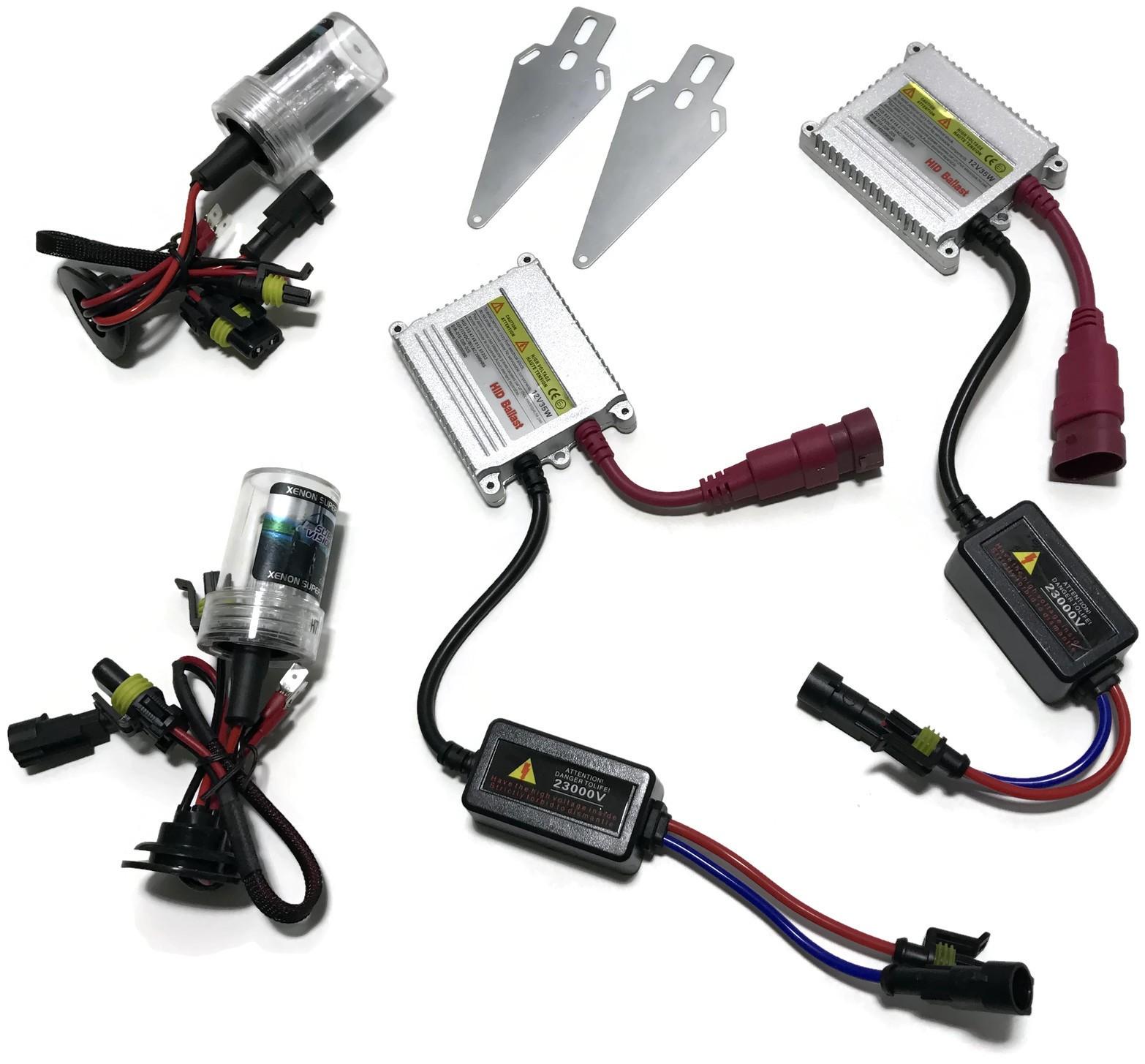 ZESTAW HID XENON SLIM HB3 9005 DIGITAL 12V 35W AC