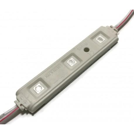MODUŁ WODOODPORNY LED SMD 5050 UV ULTRAFIOLET 12v