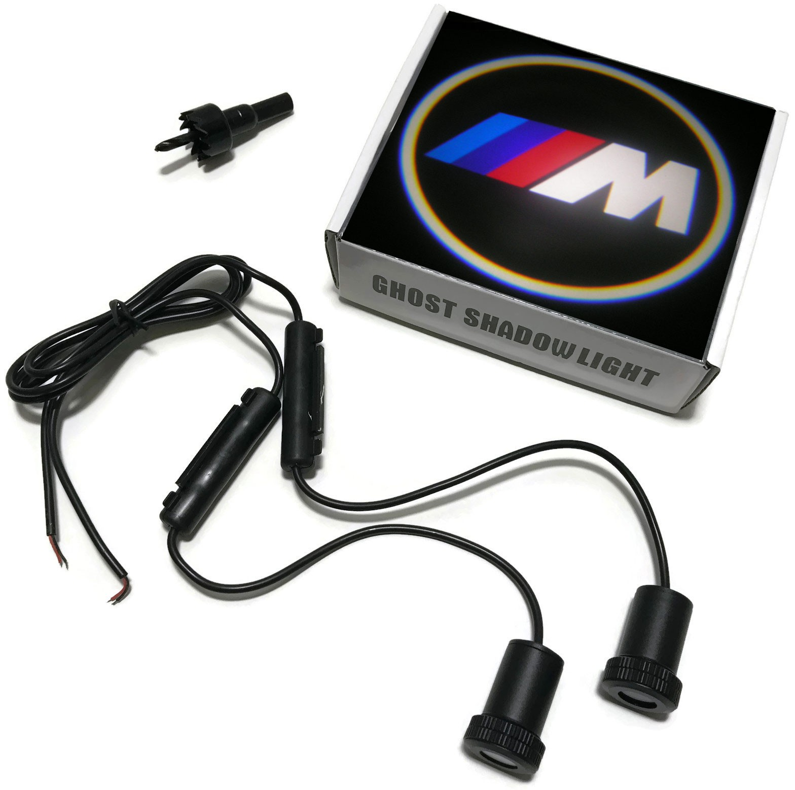 LED LOGO PROJEKTOR BMW M-POWER LAMPKI DRZWI 12V