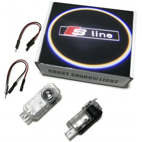 LED LOGO PROJEKTOR AUDI S-LINE A3 A4 A6 A8 Q5 Q7