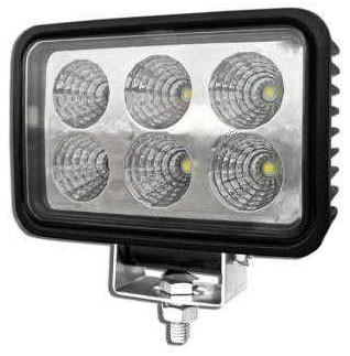 LAMPA 6 LED HALOGEN DALEKOSIĘŻNY SZPERACZ 12V 24V