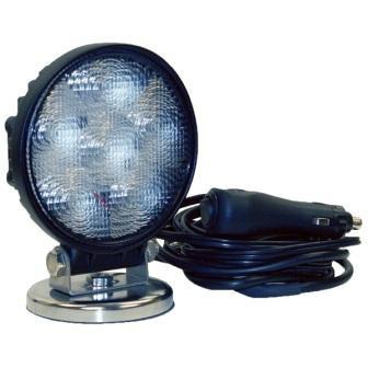 LAMPA WARSZTATOWA ROBOCZA LED 18w MAGNES 12v 24v