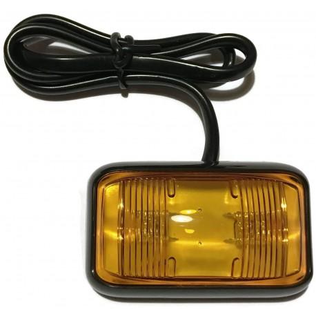 OBRYSÓWKA LAMPKA OBRYSOWA LED POMARAŃCZOWA 12V 24V