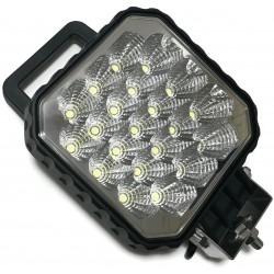 LAMPA 21 LED DALEKOSIĘŻNA ROBOCZA MASZT 12V 24V