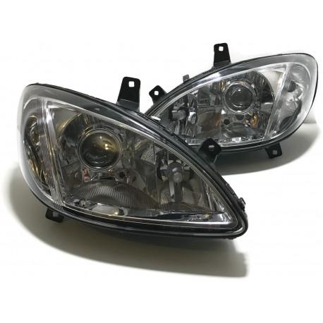 LAMPY MERCEDES VITO VIANO W639 BI XENON SOCZEWKOWE