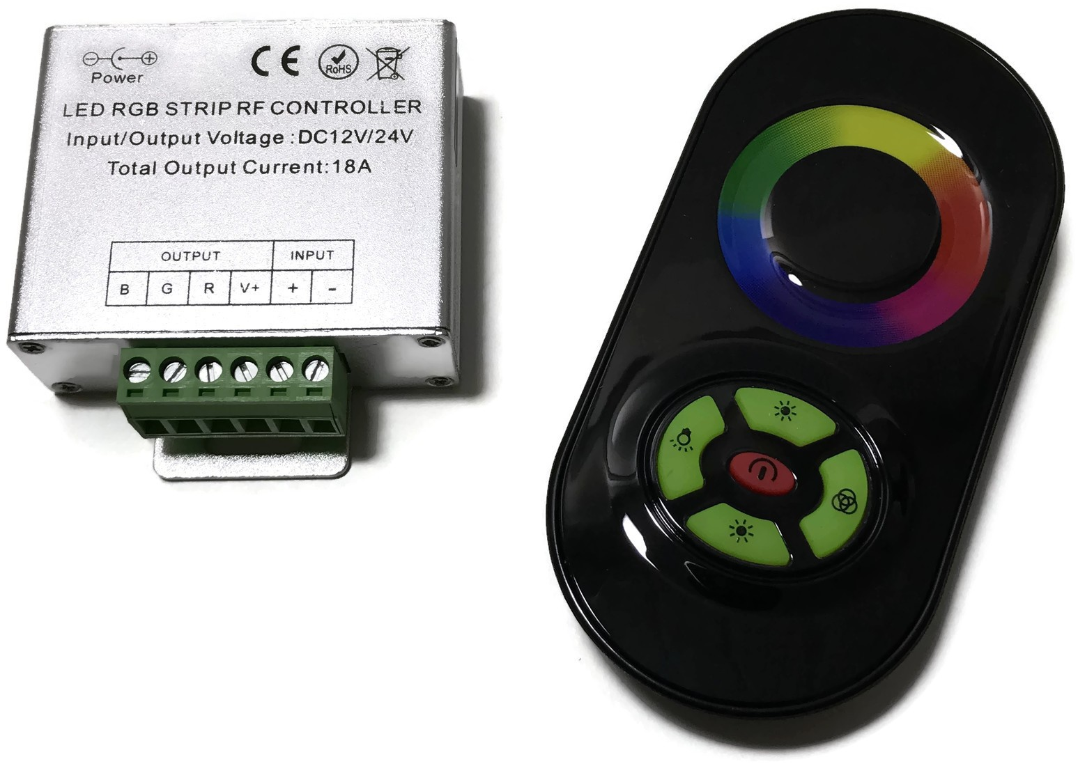 KONTROLER RGB LED STEROWNIK RADIOWY DOTYKOWY