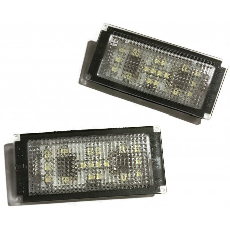 LAMPKI LED DO REJESTRACJI BMW E65 E66 TABLICY