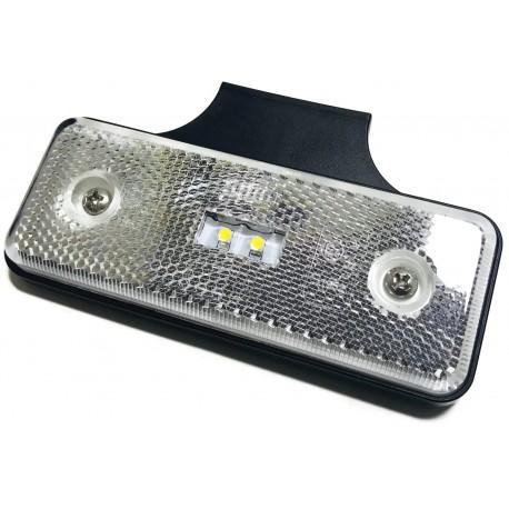 OBRYSÓWKA LED POMARAŃCZOWA LAMPA OBRYSOWA 12V 24V