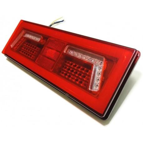 LAMPA LED TYLNA ZESPOLONA NEON PRZYCZEPA 12V 24V L