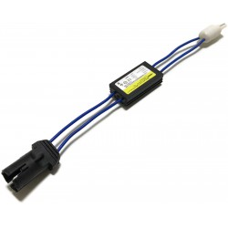 FILTR LED W5W T10 CANBUS OPORNIK REZYSTOR 12V