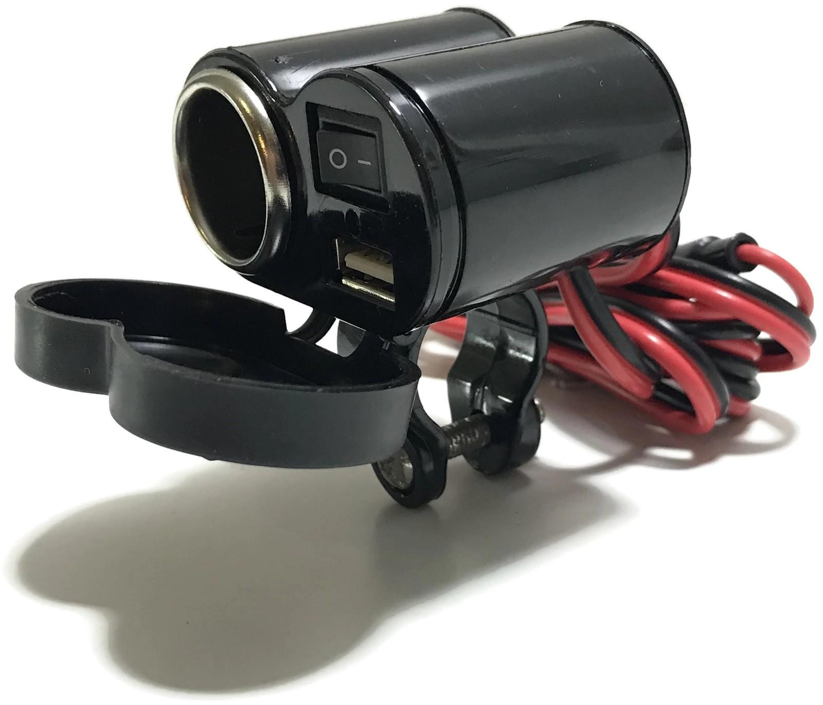 GNIAZDO ZAPALNICZKI USB 5V MOTOCYKL SKUTER QUAD