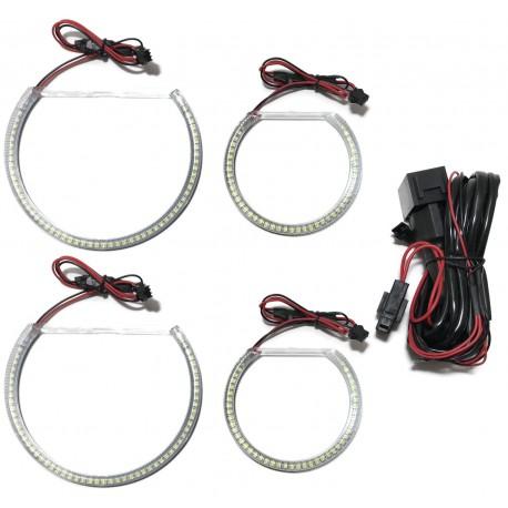 RINGI LED SMD BMW X3 E83 E60 E61 E46 COMPACT DRL