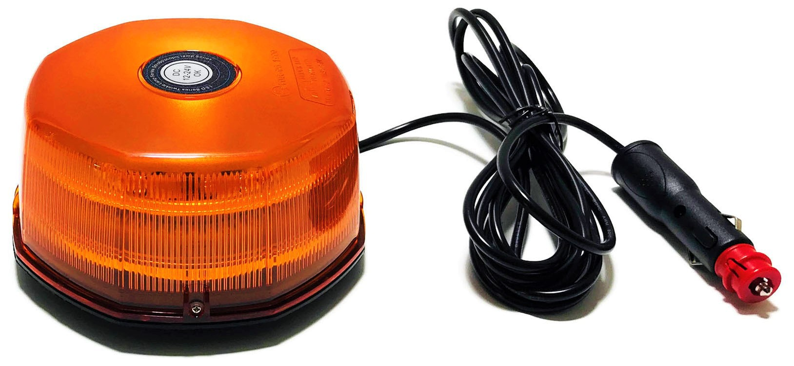 KOGUT LED OCTAGON LAMPA OSTRZEGAWCZA MAGNES 12 24V