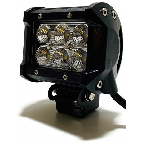 LAMPA ROBOCZA 6 LED ROZPRASZAJĄCA LIGHTBAR 12V 24V