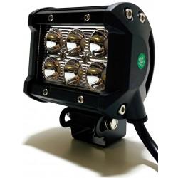LAMPA DALEKOSIĘŻNA 6 LED CREE HALOGEN OFFROAD 9-32V