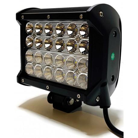 LAMPA LED ROBOCZA DALEKOSIĘŻNA COMBO 72W 12V 24V