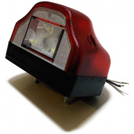 LAMPA LED TABLICY REJESTRACJI POZYCJA DUŻA 12V 24V