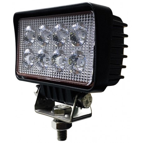 LAMPA ROBOCZA 8 LED HALOGEN ROZPRASZAJĄCY 12V 24V