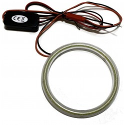RING LED COB OKRĄGŁY ŚWIATŁA DZIENNE DRL 12v 85mm