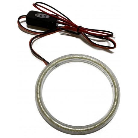 RING LED COB OKRĄGŁY ŚWIATŁA DZIENNE DRL 12v 95mm