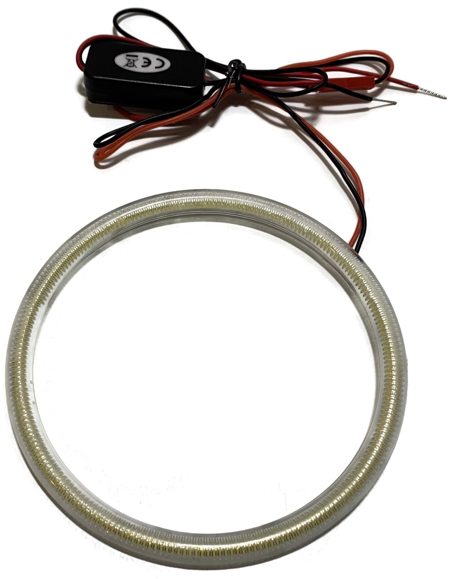 RING LED COB OKRĄGŁY ŚWIATŁA DZIENNE DRL 12v 115mm