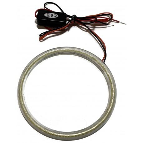 RING LED COB OKRĄGŁY ŚWIATŁA DZIENNE DRL 12v 110mm