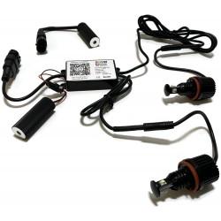 RGBW RINGI LED MARKERY BMW E60 E90 E92 F01 E70 H8