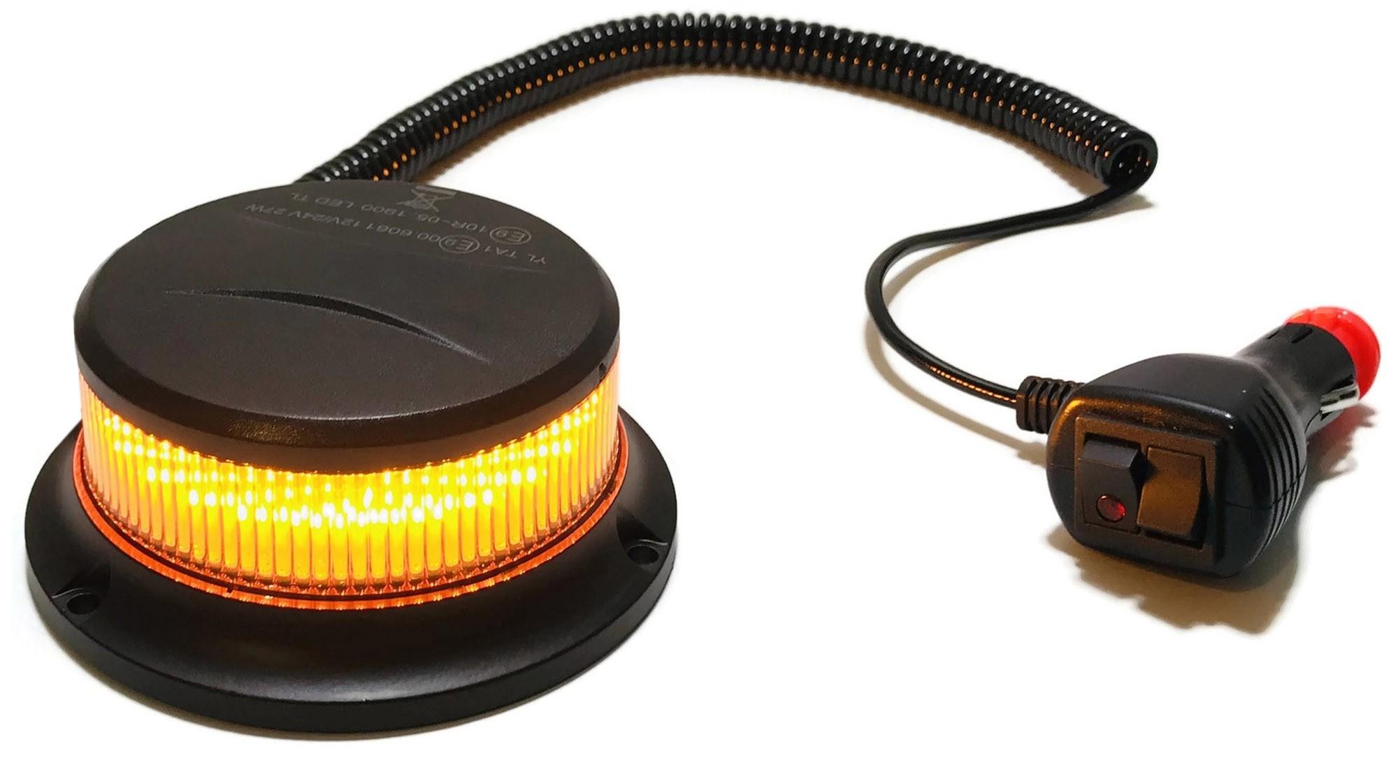 KOGUT LED PICO POMARAŃCZOWY MAGNES LAMPA 12V 24V