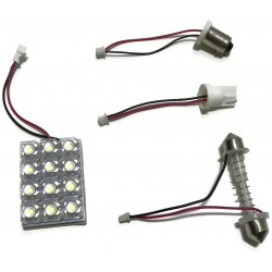 MODUŁ PANEL 12 LED SUPERFLUX W5W BA9S C5W C10W 12V