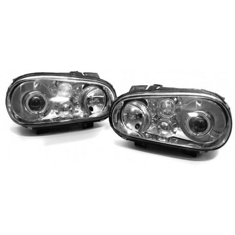 LAMPY VW VOLKSWAGEN GOLF 4 IV BI XENON SOCZEWKI