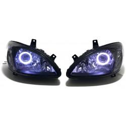 LAMPY MERCEDES VITO VIANO W639 BI XENON LED CZARNE