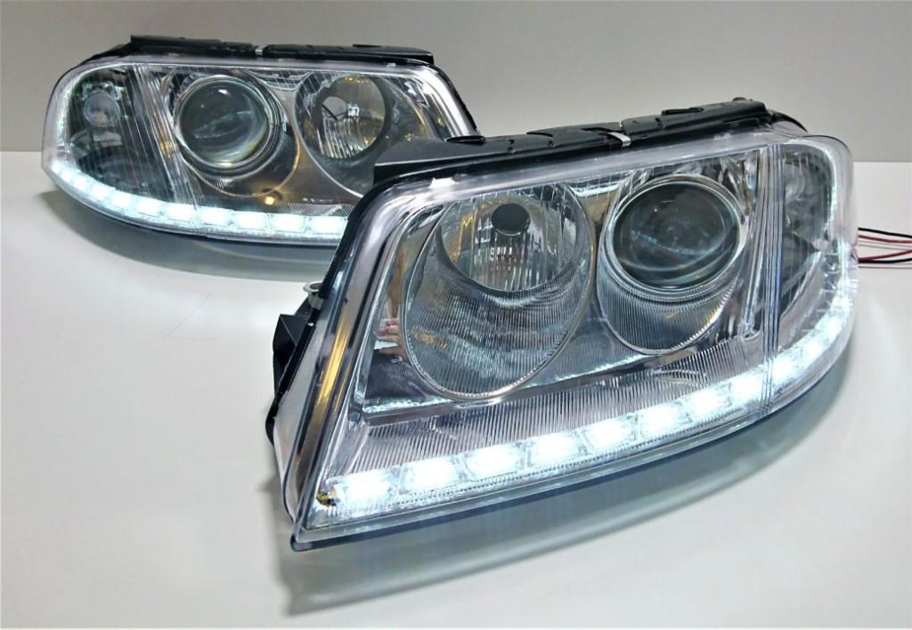 Lampy Volkswagen Passat B5 Lift Pasek Drl Xenon